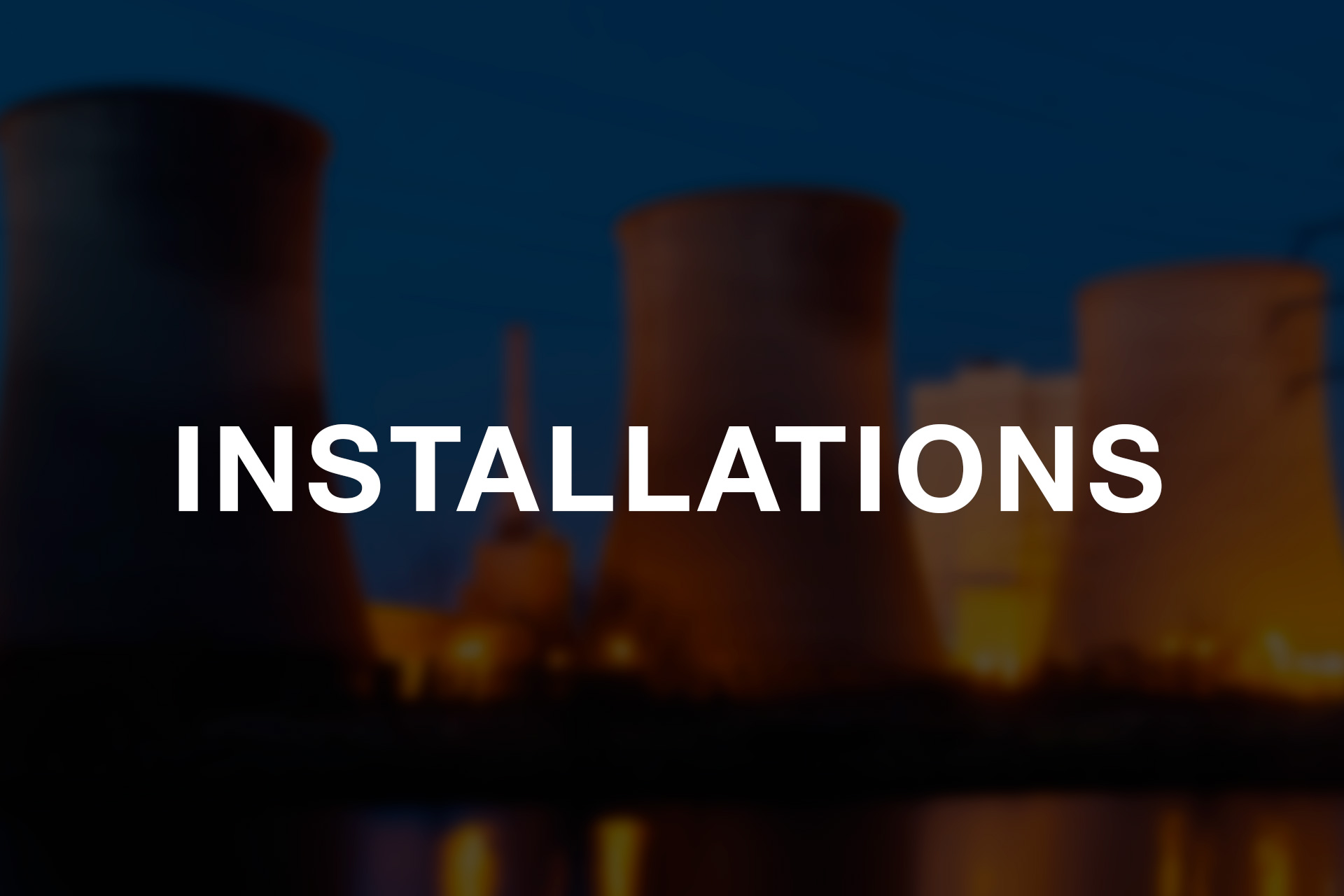 expansion joints installations